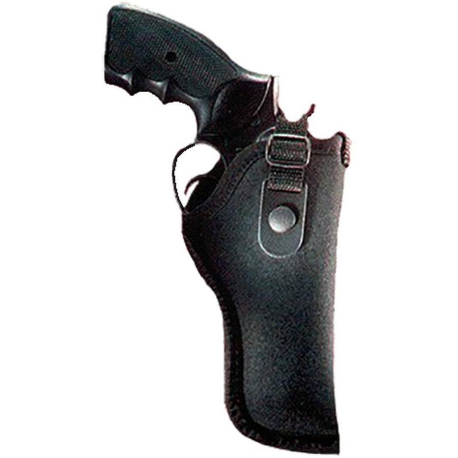 "Gunmate 21012 Hip Holster 21012 Fits Belt Width up to 2"" Size 12, Black Synthetic"