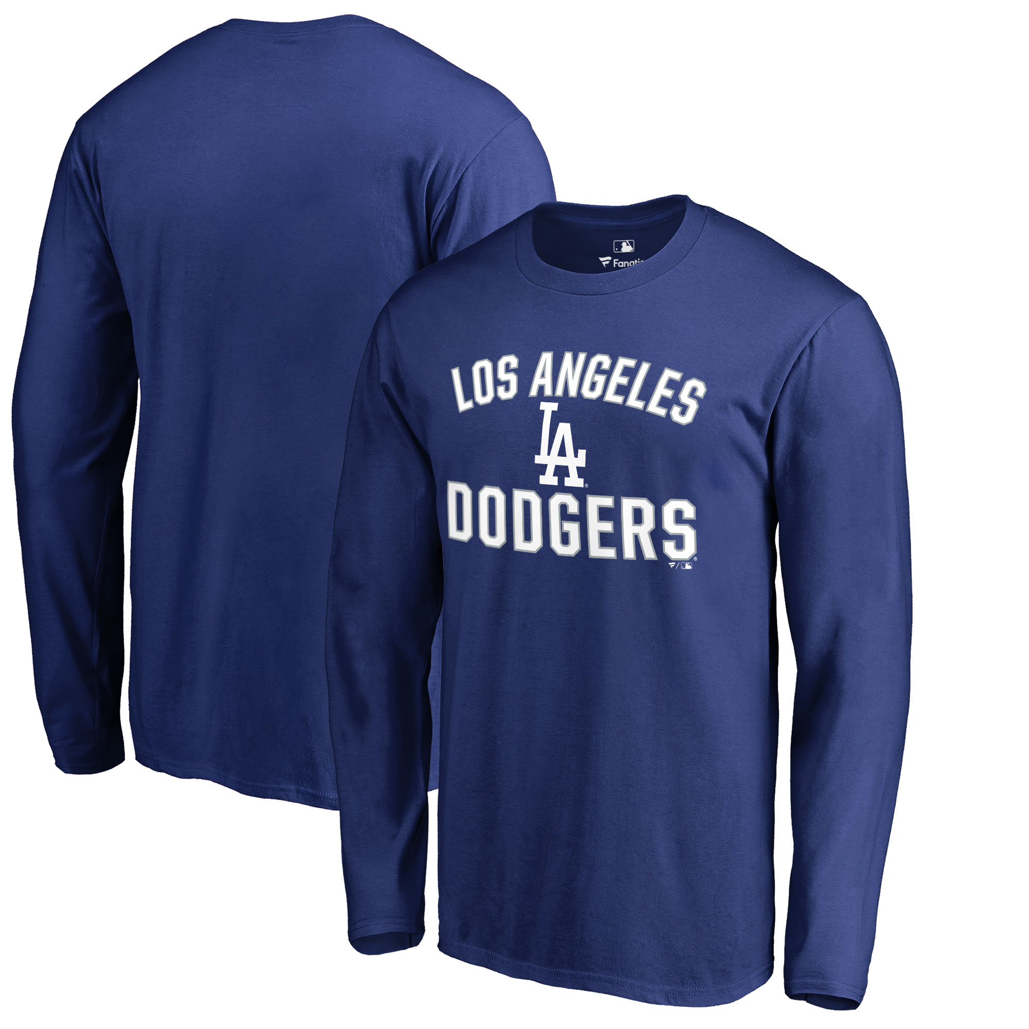Los Angeles Dodgers Victory Arch Long Sleeve T-Shirt - Royal