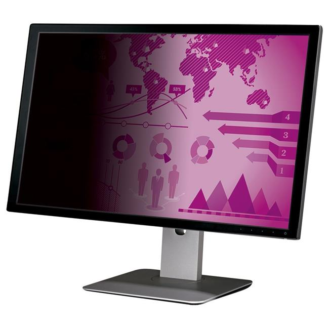 High Clarity Privacy Filter for 21.5 in. Widescreen 16 isto 9 Monitor, Black