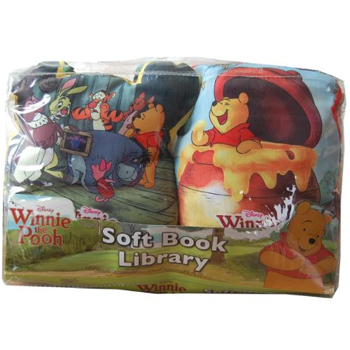 Disney Soft Book Library 2 Pack Winnie The Pooh