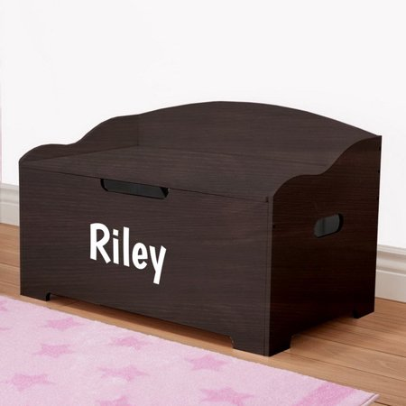 Personalized Dibsies Modern Expressions Signature Series Toy Box - Girls - (Personalized Toy Box)