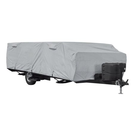 16 in. Folding Camper Cover Folding Car Covers