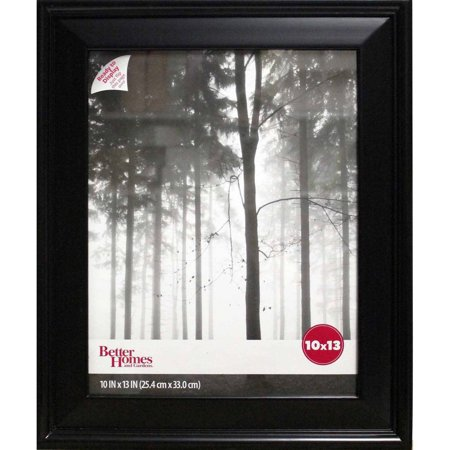 Better Homes and Gardens 10x13 Beveled Picture Frame, Black ...