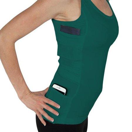 Brooks Running Vest (Women's Sleeveless Running Sports Solid Color Slim Fitness Vest)