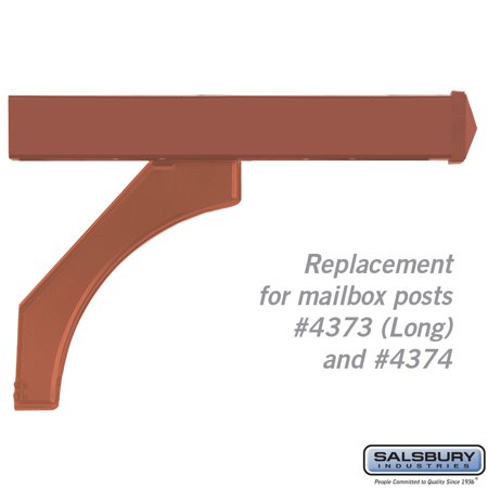 Arm Kit - Replacement for Deluxe Post for Designer Roadside Mailboxes - Copper