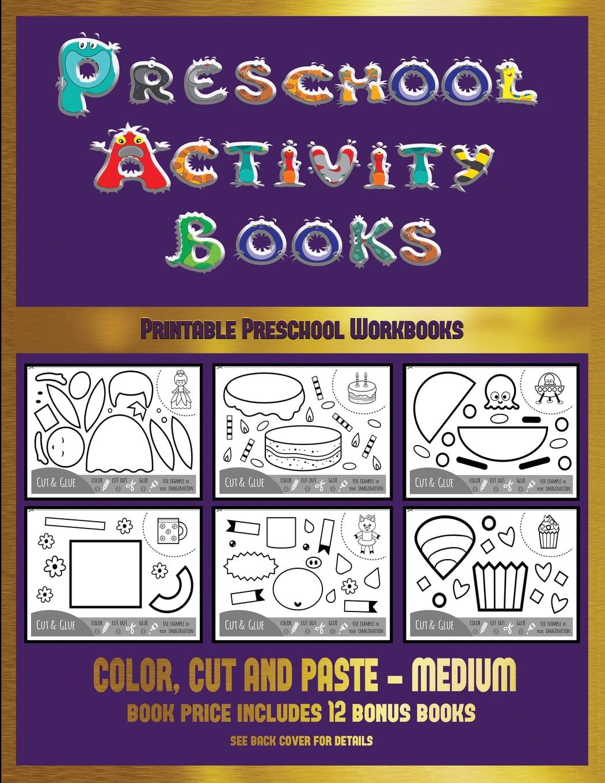 Printable Preschool Workbooks: Printable Preschool Workbooks (Preschool  Activity Books - Medium) : 40 Black And White Kindergarten Activity Sheets  Designed To Develop Visuo-perceptual Skills In Preschool Children. (Series  #16) (Paperback) - Walmart.com