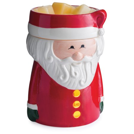 Holiday Fragrance Warmer (Santa Claus Winter Holiday Illumination Fragrance Warmer by Candle Warmers Etc. )