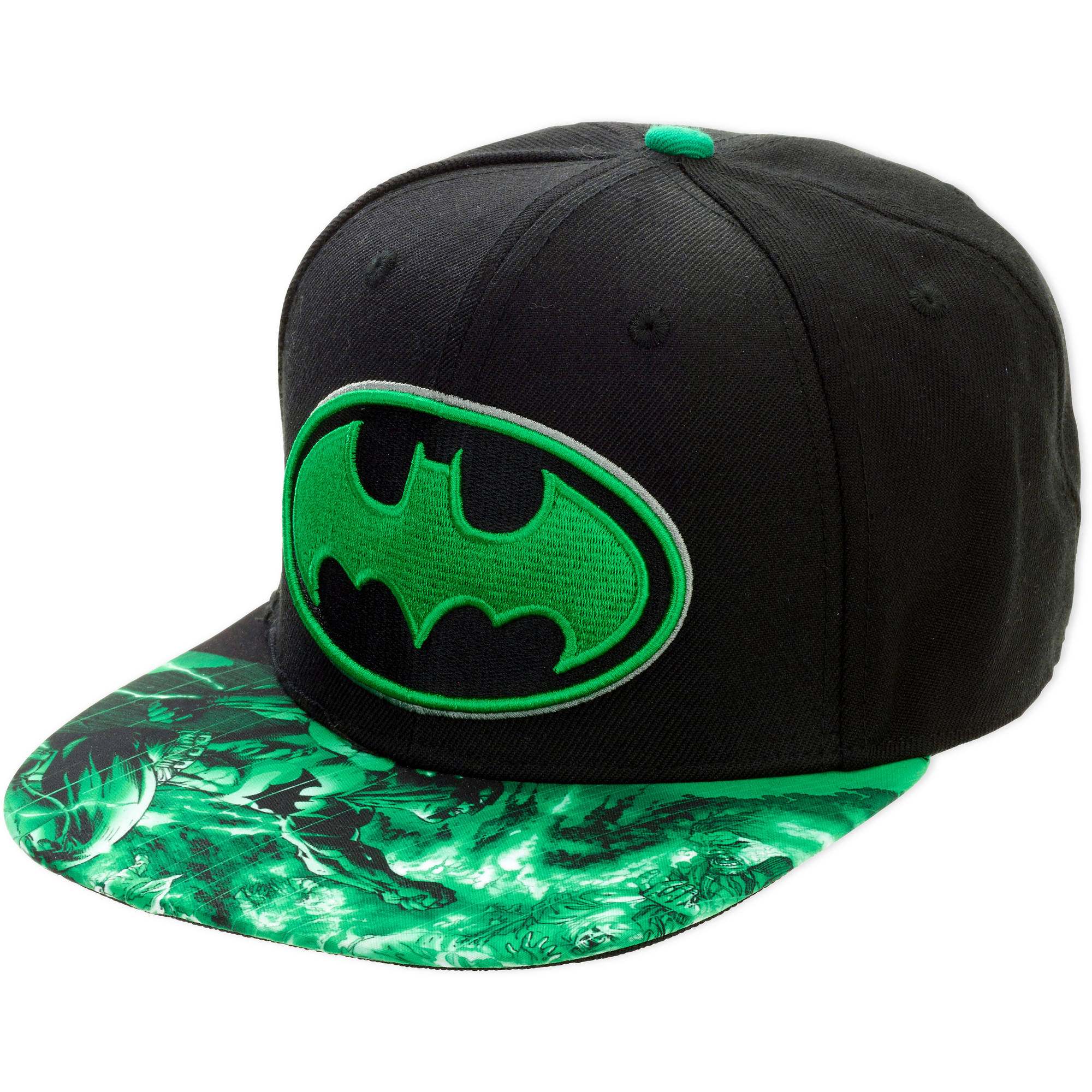 Batman 3D Sublimation Flatbill Baseball Cap