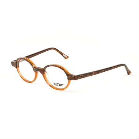 BOZ Women\'s Redwood Round Eyeglass Frames 45mm Bronze Vintage Floral ...