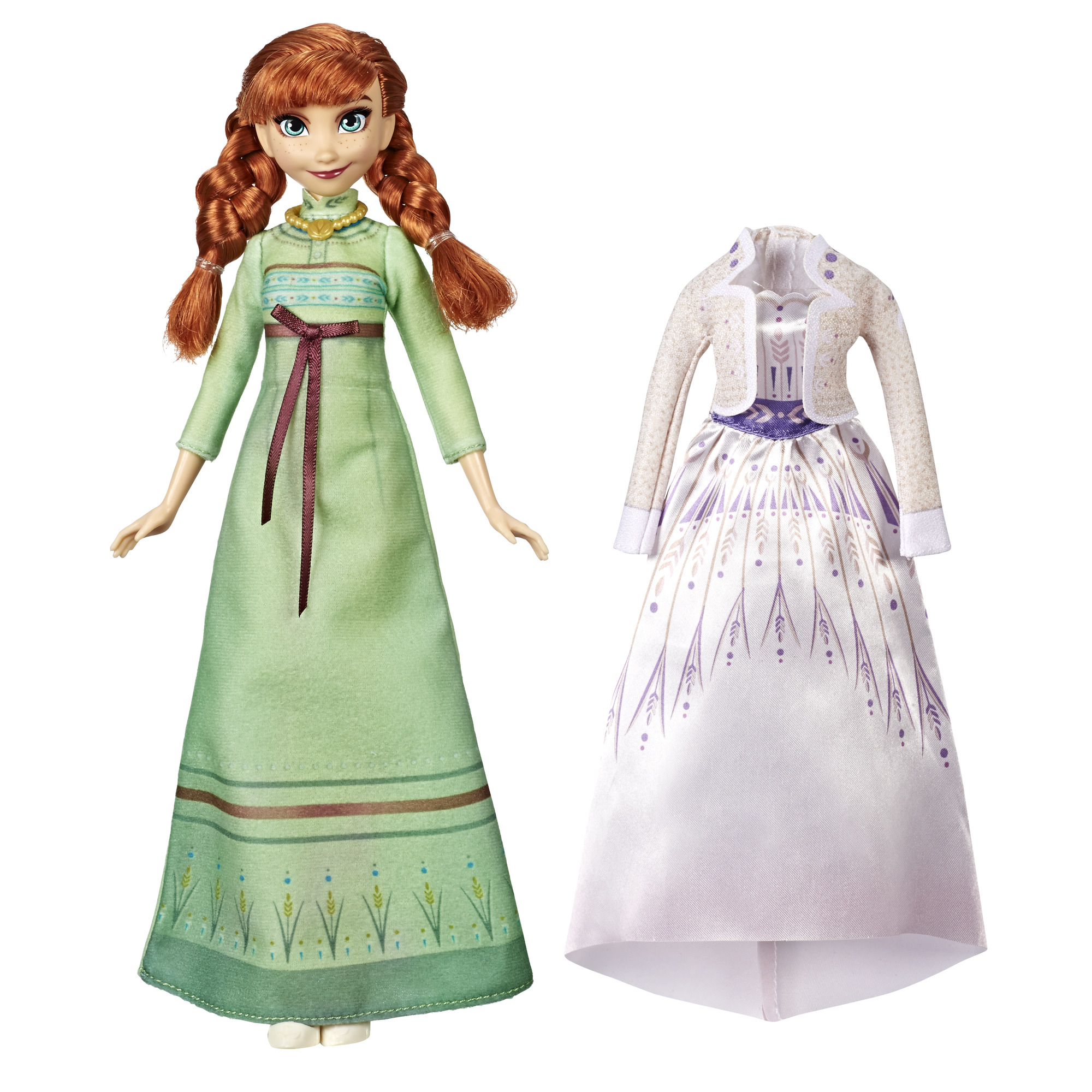 insieme esilio Sedativo  Disney Frozen 2 Arendelle Anna Doll with Dress, Nightgown & Shoes -  Walmart.com - Walmart.com