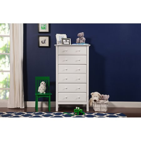DaVinci Jayden 6-Drawer Tall Dresser, Choose Your Finish