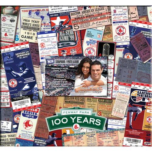 Fenway Park 100Th Anniversary 12X12 Scrapbook - Boston Red Sox Boston Red Sox TSBBBOS100