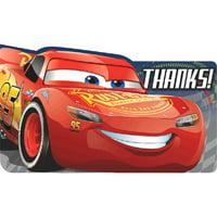 Cars 3 Thank You Note Set w/ Envelopes (8ct)