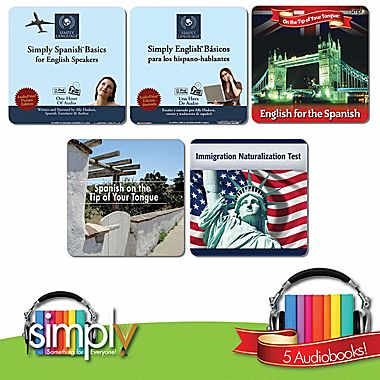 Spanish & English Language 5 in 1 Collection - Simply Spanish Basics for English Speakers, Simply English Basics for Spanish (Let The Right One In Trailer English)