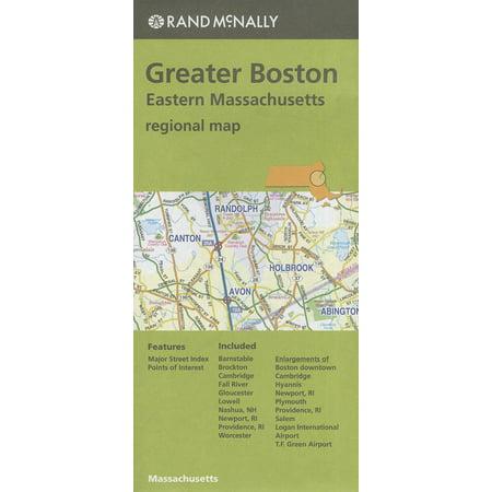 County Massachusetts Map - Rand mcnally greater boston eastern massachusetts regional map (other): 9780528008924