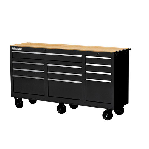 International 73'' 11 Drawer Cabinet