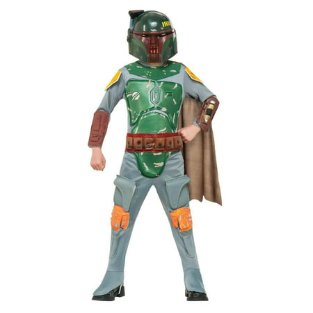Make Jango Fett Costume (Star Wars: Boba Fett Child Costume - Medium (8-10) )