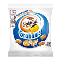 Crackers: Goldfish Grahams Snack Packs