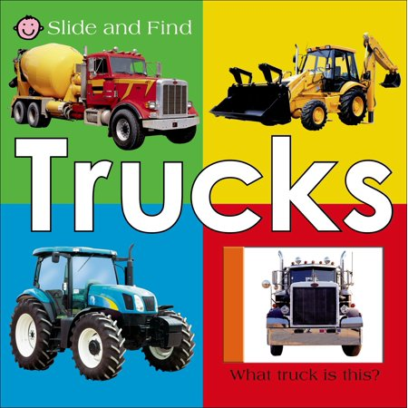 Ultra Slide Board (Slide And Find Trucks (Board Book))