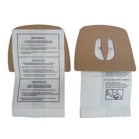 Royal Dirt Devil Style F Canister Vac Vacuum Bags 3200147001, 124SW Type Enviro [Single Loose Bag]