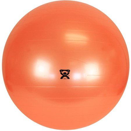 CanDo ® Inflatable Exercise Ball - Orange - 48