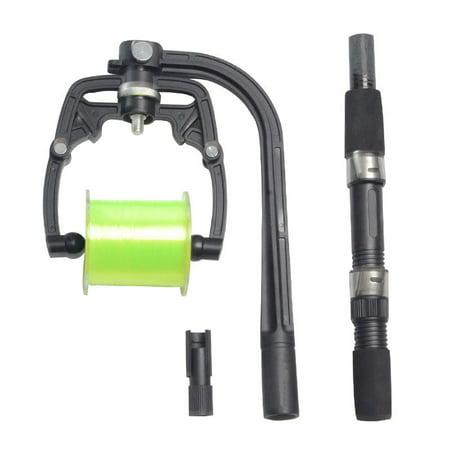 Fishing Line Winder - Portable Fishing Reel Line Winder Spool Spooler for Spinning- Winding Station