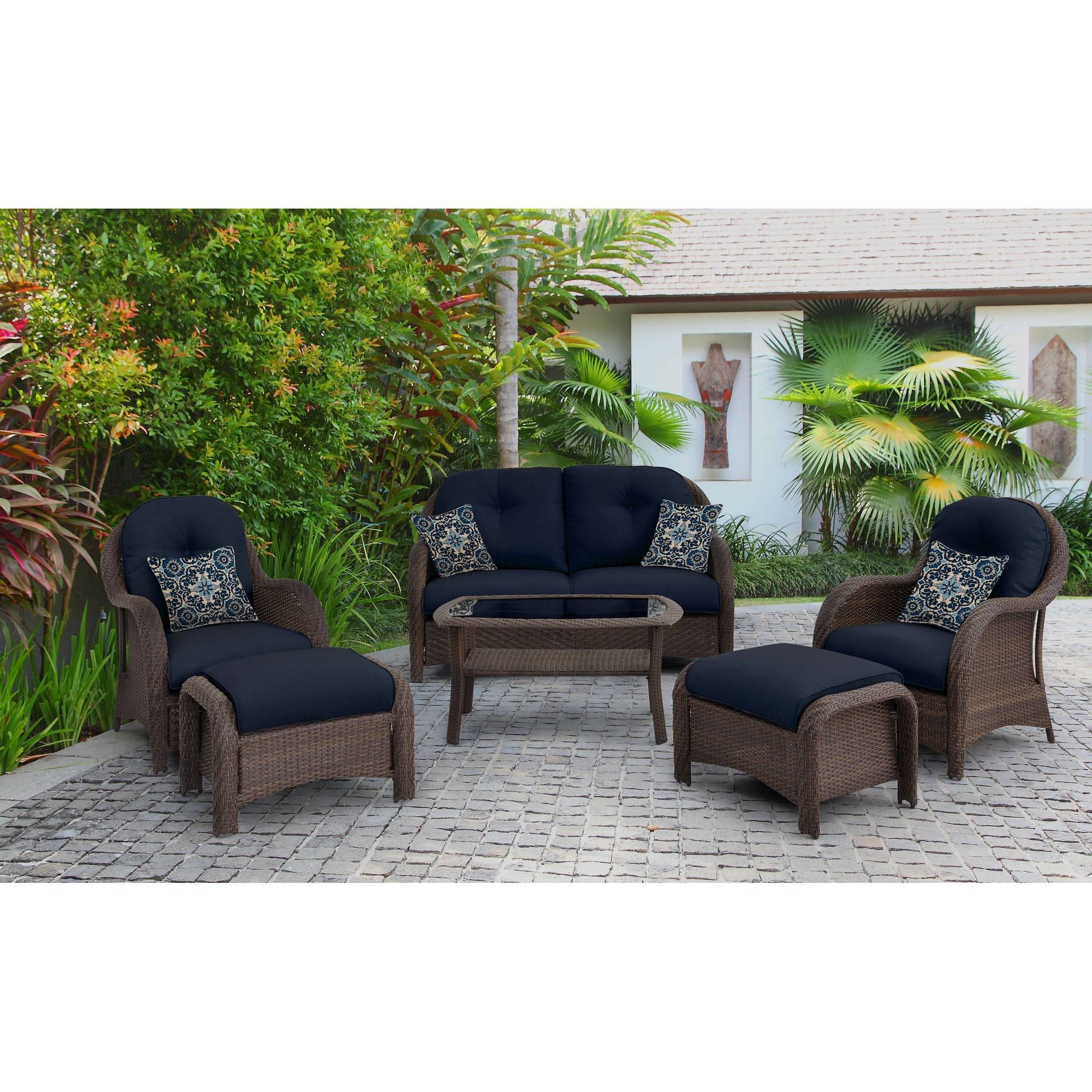 6-Piece Woven Seating Set