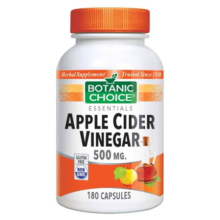 Indiana Botanic Gardens Botanic Choice  Apple Cider Vinegar, 180 (Slim Fast 180 And Apple Cider Vinegar)