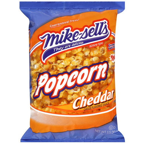 Mike-sell's Cheddar Cheese Flavored Popcorn, 3.5 oz