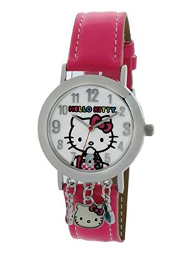 9913d0bb6 Product Image Hello Kitty Analog Watch With Charms SIL-3419 HKKQ5598