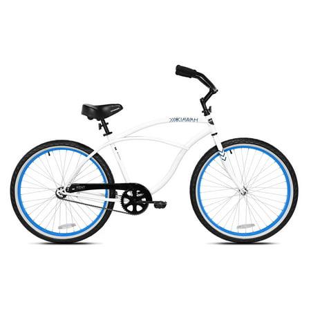 Kent International 26 Inch Back Wheel Mens Kiawah Cruiser Street Bicycle,