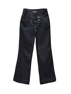 ccfd5f6d02fa Product Image Apt 9 Women's Wide Waist Button Wide-Leg Jeans Rinse Wash  240499RM ...