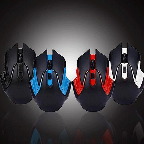 Girl12Queen 2.4GHz Wireless Gaming Game Mouse Mice USB Receiver for Computer PC Laptop