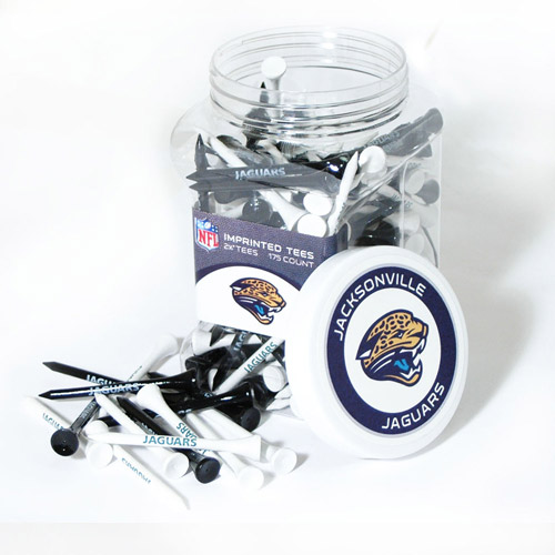Team Golf NFL Jacksonville Jaguars Jar Of 175 Golf Tees
