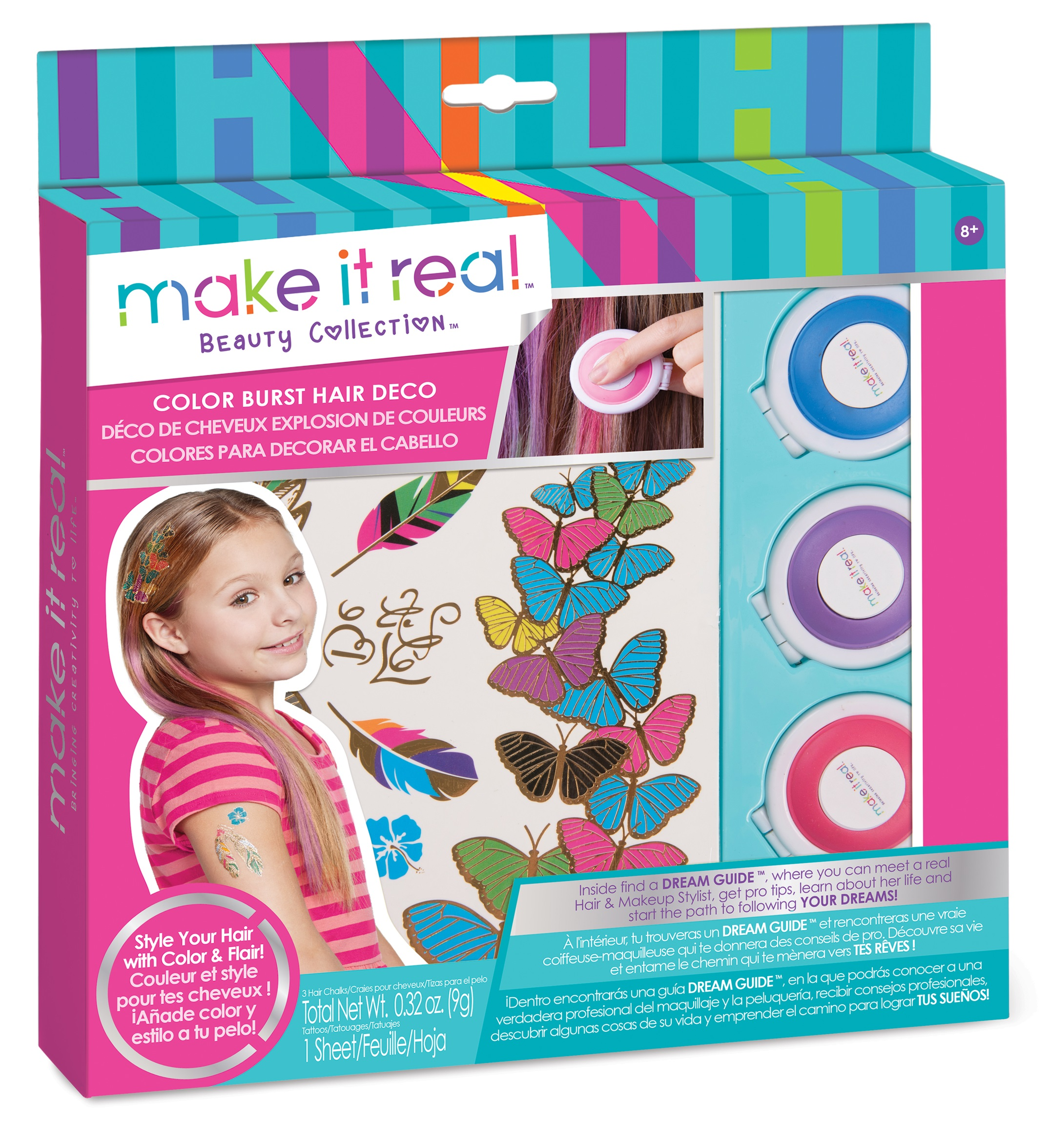 Make It Real Colorburst Hair Deco