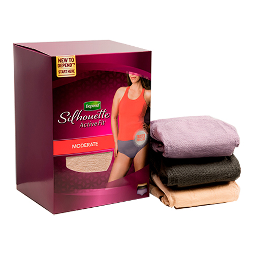 Kimberly-clark Depend Underwear Silhouette Activefit for ...