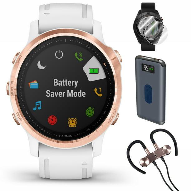 Garmin fenix 6S PRO GPS Smartwatch (010-02159-10) + Wireless Sport Earbuds & More