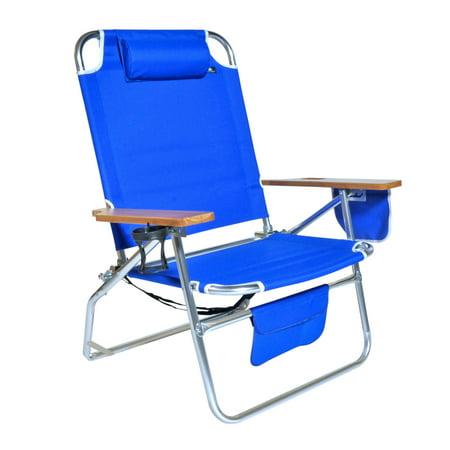 Jumbo Heavy Duty 500 Lbs Xl Aluminum Beach Chair For Tall
