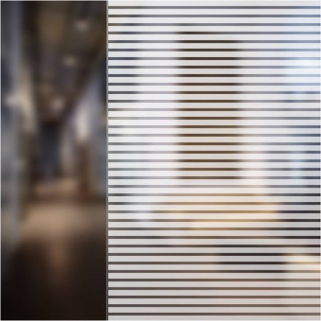 Venetian Window - BDF BLVE Venetian Blind Window Film (1/2 Inch Wide Blinds) 36in X 7ft by BuyDecorativeFilm