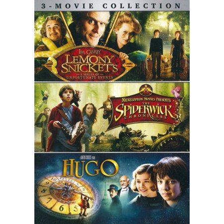 Lemony Snicket's A Series of Unfortunate Events / The Spiderwick Chronicles / Hugo (DVD) - Family Halloween Events Long Island