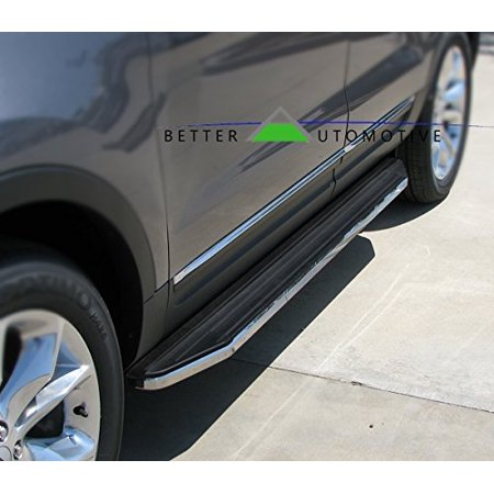 BETTER AUTOMOTIVE Running Boards Fit 2011-2018 Jeep Grand Cherokee (Incl. High Altitude and High Altitude II and SRT) ( For Trail Hawk, must remove factory