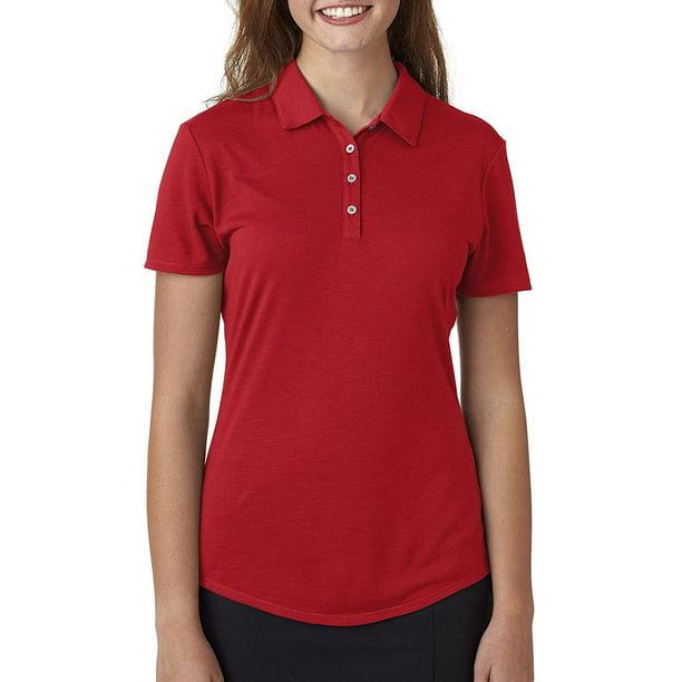 Golf Womens Short-Sleeve Solid Polo Shirt - Adidas