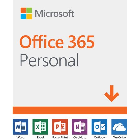 microsoft office 365 personal 12 month subscription 1 person pc