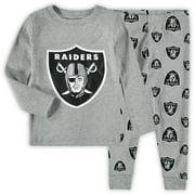 Las Vegas Raiders Toddler Sleep Set - Heathered Gray