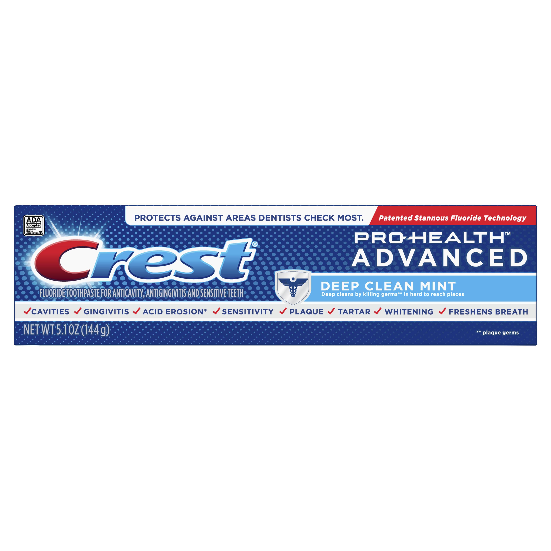Crest Pro-Health Advanced Deep Clean Mint Toothpaste, 5.1 oz