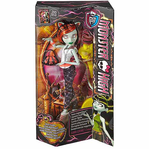 Monster High Freaky Fusion Scarah Doll by