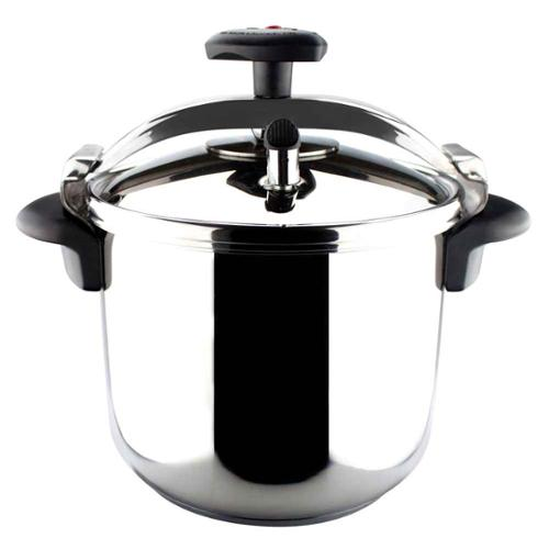 Stainless Steel Fast Pressure Cooker (6 Quart)