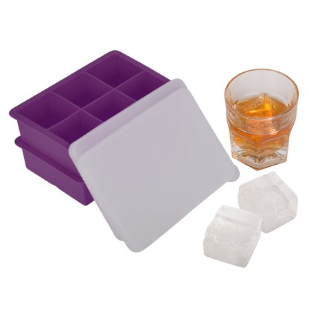 Whiskey Ice Cube Trays Square Maker Silicone Mold Sphere Mould Trays Gift