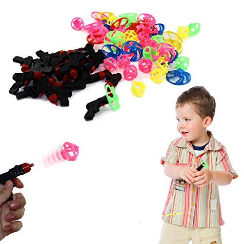Dazzling Toys Peg-top Mini Shooters Party Set 24 Per Pack