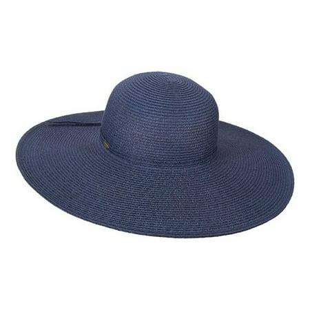 Scala Paper Braid - Women's Scala LP Paper Braided Big Brim Sun Hat